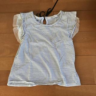 リリーブラウン(Lily Brown)の〈処分の為値下げ〉lily brown  ボーダーTシャツ(Tシャツ/カットソー(半袖/袖なし))