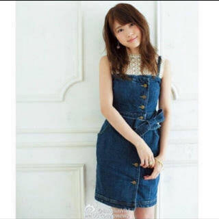 Lily Brown - Lily Brown * 2wayデニムワンピース