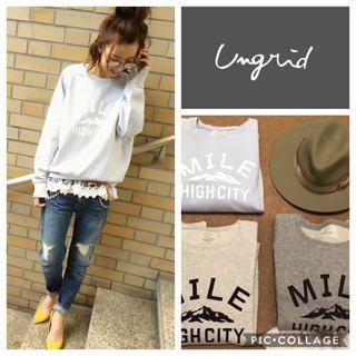 Ungrid - Ungrid**MILEプリントスウェット