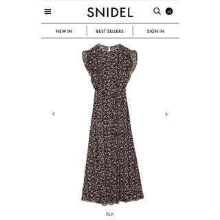 snidel - 新品✳︎snidel  レア 今季 完売 ランダムドット ワンピ スナイデル