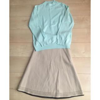 ニッセン - レディース  小さいサイズ ニット&スカート