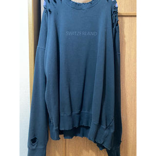18aw stein OVERSIZED REBUILD SWEAT LS