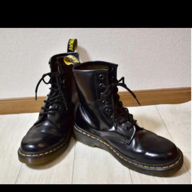 Dr.Martens(ドクターマーチン)のドクターマーチン 8ホール 黒 24.0 レディースの靴/シューズ(ブーツ)の商品写真
