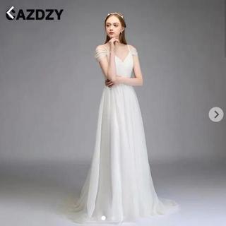 ウェディングドレス Aライン Sサイズ