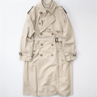 20ss stein LAY OVERSIZED TRENCH COAT
