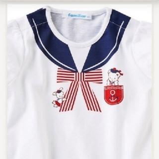 familiar - 【新品】ファミリア Tシャツ 90♡