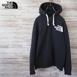 THE NORTH FACE - The North Face ジップアップ ロゴスウェットパーカー