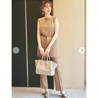 Mila Owen - 定価16500円❤️milaowen ノースリーブロングトップスセットアップ