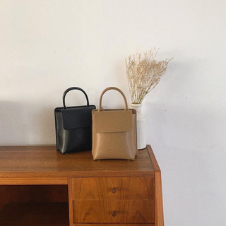 clane LEATHER BAG LUCUA LIMITED レザーバッグ