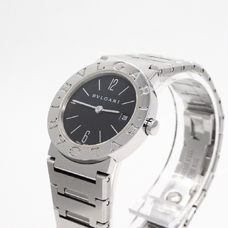 BVLGARI - 【BVLGARI】ブルガリ腕時計 'BB26SS' ☆ロゴ有り後期モデル☆