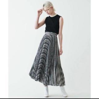 TOMORROWLAND - トゥモローランド美品チェックアシメスカート