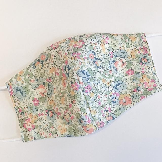 babyish マスク 、 リバティ♡ダブルガーゼ 布マスク リバーシブルの通販