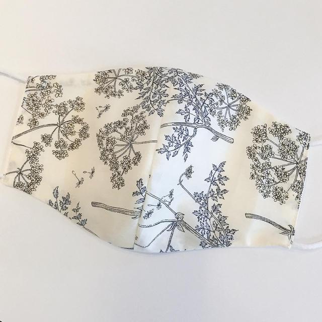 超 立体 マスク / リバティ♡ダブルガーゼ 布マスク リバーシブルの通販