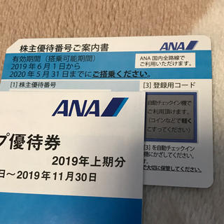 ANA(全日本空輸) - ANA 株主優待 全日空 3枚