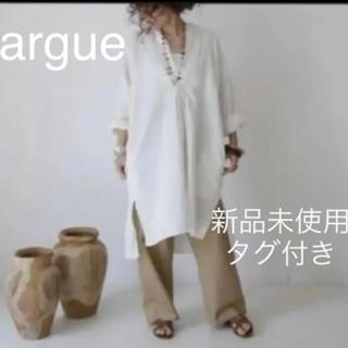 L'Appartement DEUXIEME CLASSE - ◆新品未使用◆ ARGUE VINTAGE シャツワンピース  チュニック