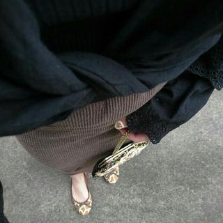 Lochie - knit skirt