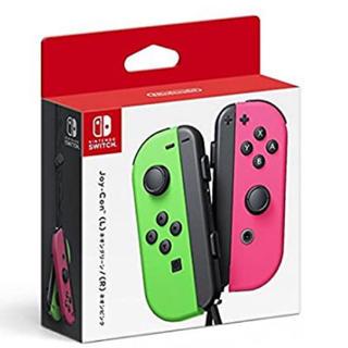 Nintendo Switch - 限定値下げ 任天堂Switch ジョイコン  ネオングリーン ネオンピンク