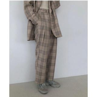 TODAYFUL - todayful ☆Check Tuck Pants