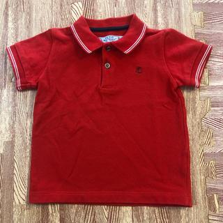 PETIT BATEAU - 美品⭐️プチバトー ポロシャツ レッド 24m