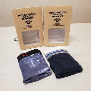 HOLLYWOOD RANCH MARKET - ⭐ハリウッドランチマーケット⭐新品2個セット ボクサーパンツ サイズ:L
