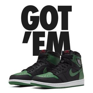 NIKE - AJ1 Nike Air Jordan 1 Pine Green