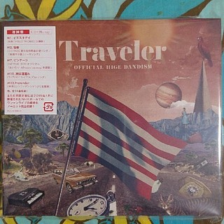 Traveler【LIVE Blu-ray盤】/Official髭男dism