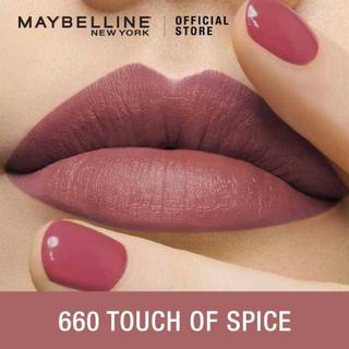 メイベリン(MAYBELLINE)のカラーセンセーショナル 660(口紅)