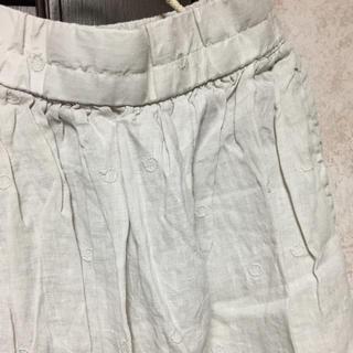 SM2 - TSUHARU 新品 フレンチリネンドット刺繍スカート