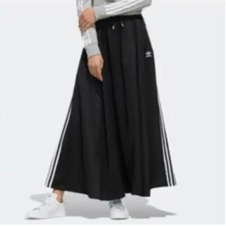 adidas - アディダスオリジナルス ロング サテン スカート
