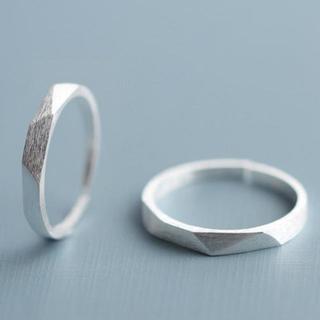 プレゼント(present)のペアリング 指輪 シルバー リング メンズ レディース 新品 【ラッピング袋付】(リング(指輪))