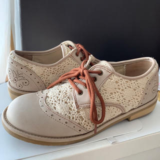 アシナガオジサン(あしながおじさん)の春靴レースマニッシュシューズbyあしながおじさん(ローファー/革靴)