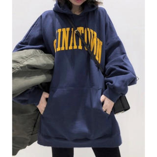 L'Appartement DEUXIEME CLASSE - アパルトモン CHINATOWN MARKET HOODED SWEAT