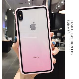 【大人気商品!】素敵なグラデーションケース iPhoneケース ピンク