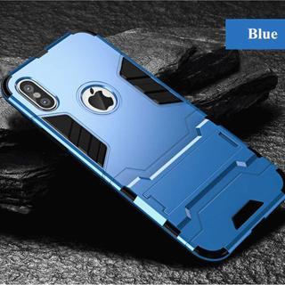 【大人気商品!】耐衝撃に特化したブルーの高級スマホケース 【新品】