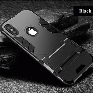 【大人気商品!】耐衝撃に特化したブラックの高級スマホケース 【新品】