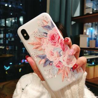 【大人気商品!】 スマホケース お花柄 iphoneケース 【送料無料】