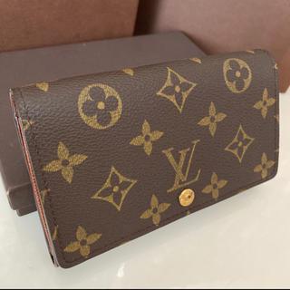 LOUIS VUITTON - 美品 正規品ルイヴィトンL字ファスナー 折財布