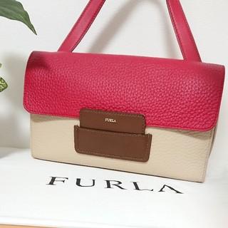Furla - 限定価格【美品】フルラ 本革 ハンドバッグ バイカラー