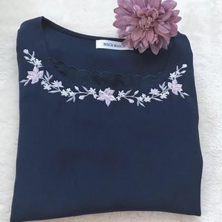 ミッシュマッシュ(MISCH MASCH)の花刺繍ブラウス♡(シャツ/ブラウス(長袖/七分))