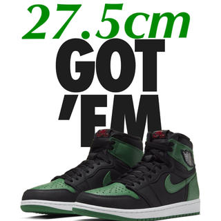NIKE - AIR JORDAN 1 RETRO HIGH OG PINE GREEN