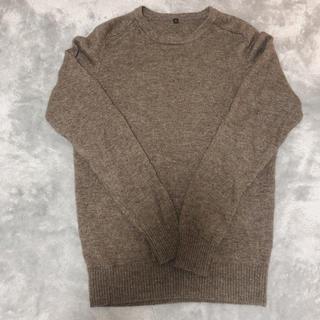 MUJI (無印良品) - 無印良品 ヤク混ウールセーター