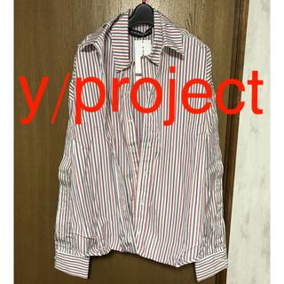 Balenciaga - y/project ワイプロジェクト レイヤードシャツ オーバーサイズ 17aw