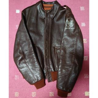 THE REAL McCOY'S - リアルマッコイズA-2フライトジャケットレザージャケット36サイズ