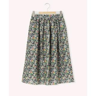 SM2 - 花柄ギャザースカート