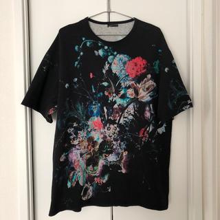 LAD MUSICIAN - LAD MUSICIAN 花柄Tシャツ 44