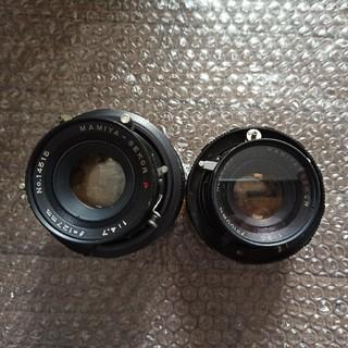 マミヤ(USTMamiya)のMAMIYA-SEKOR 127mm 1:4.7 と 100mm 1:3.5 (レンズ(単焦点))