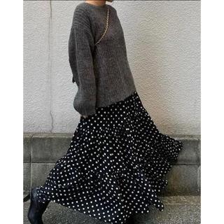 myine♡ドットスカート