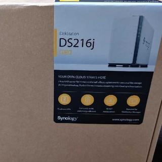 【新品未使用】Synology NAS DS216j