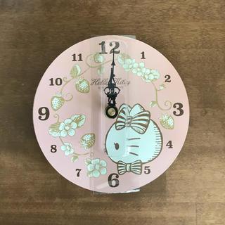 ハローキティ(ハローキティ)のハローキティ  掛け時計(掛時計/柱時計)