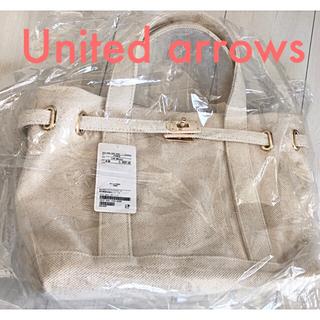 UNITED ARROWS - メタルモチーフトートバッグ UNITED ARROWS ☆ 新品・タグ付き